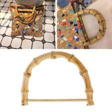 Bamboo Bag Handle Replacement for Bags Purse DIY Making Handbag Shopping Tote