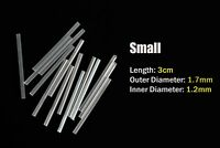 6m Small Size Plastic Tube Kit PE Hard Tube Fly Tubing Clear Fly Tying Materials