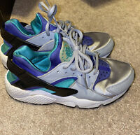 Nike Womens Air Huarache Run Wolf Grey/Light Retro Size 6 Wmns 634835 008