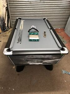 7FT BY 4FT NEW SUPREME WINNER GREY CLOTH FREEPLAY POOL TABLE CAN DELIVER