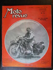 MOTO REVUE N°1009 DU 2  DEC 1950 GILERA 250 NETTUNO GAMME ARIEL 250 BENELLI GP