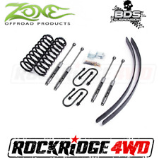 "Zone Offroad 3"" Suspension Lift Kit Jeep Cherokee XJ 84-01 Chrysler 8.25 w/ NX2"