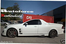 HSV VE VF MALOO UTE R8/GTS/LSA WEATHERSHIELDS WEATHER SHIELD DOOR WINDOW VISOR