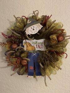 Fall Harvest Thanksgiving Custom Front Door Wreath- Autumn Wreath