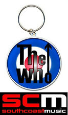 THE WHO BULLS EYE TARGET LOGO KEY RING OFFICIAL LICENCED PRODUCT KEYCHAIN