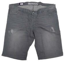 NEU Übergröße Herren Cargo Stretch Jeans Bermuda blau Regular Fit Gr.62,64,66
