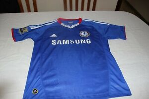 T-Shirt Of Football The Chelsea Brand Adidas Size S Samsung No 8 Lampard Shirt