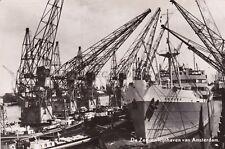 NETHERLANDS - Amsterdam - De Zee en Rijnhaven - Gances Ship - Echte Foto