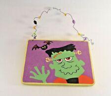 Wood Halloween Frankenstein Trick Or Treat Decoration