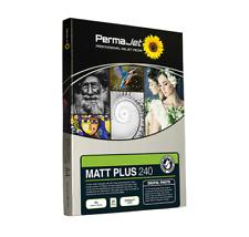 Permajet Matt Plus 240 gsm 6x4 100 FOGLI CARTA FOTOGRAFICA - 51102
