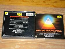HAYDN - DIE SCHÖPFUNG: JAMES LEVINE / GERMANY 2-CD-BOX 1991 & BOOKLET