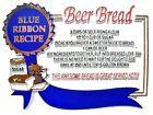 Beer Bread Blue Ribbon Recipe Fridge Magnet