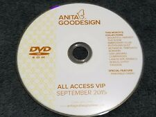 Anita Goodesign Embroidery Designs (CD ONLY) ALL ACCESS VIP Club SEPTEMBER 2015