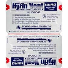 HYFIN VENT COMPACT CHEST SEAL TWIN-PACK Authorized Distributor Latest EXP