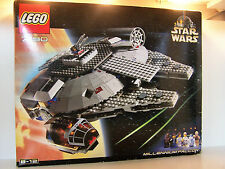 Star Wars Lego 7190 Millennium Sealed MIB Factory Sealed 2000
