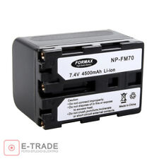 BATTERY // 4500mAh // for Sony NP-FM70 / NP-FM90 / NP-FM50 / NP-FM30 / NP-FM50