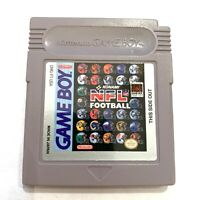Konami NFL Football Nintendo Gameboy Cartridge - Tested, Working - Authentic!