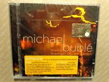 MICHAEL BUBLE' -  MEETS MADISON SQUARE GARDEN  - CD+ DVD 2009  NUOVO E SIGILLATO