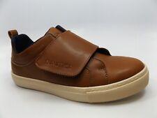 Nautica Mens Acamar Tan Smooth Low Oxford Fashion Sneaker SZ 8.5 M, NEW, D14510