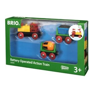 Brio Vehicle Battery Operated Action Train