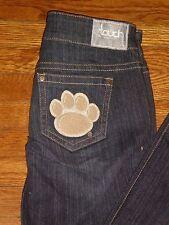 NEW Clemson Tigers Women's Touch Denim Jeans  by Alyssa Milano sz:26