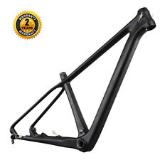"ICAN 29er Full Carbon Fiber Mountain Bike Frame 16"" BB92 UD Matt Rear 135/142mm"