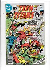 The Teen Titans #49 August 1977 Joker's daughter The Harlequin
