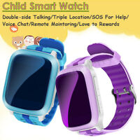 Waterproof GPS Tracker Smart Kids Child Watch Anti-lost SOS Call For Android/iOS
