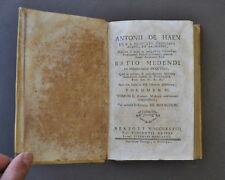 Medicina De Haen Patologie Reni Intestino Anatomia Miracoli   1778