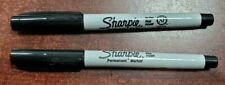 Sharpie Ultra Fine Point Black Permanent Marker quantity of 2 Fresh Stock NEW