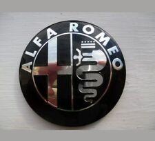 X2 EMBLEM BADGE ANTERIORE POSTERIORE 74mm PER ALFA ROMEO GT GIULIETTA MITO 159 156 147
