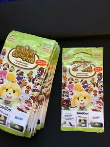 Animal Crossing Amiibo - Series 1 - Card Pack NEW