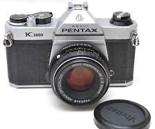 * Pentax K1000 w/50mm 1:2 Lens  - JAPAN