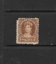 1870 Queen Victoria SG32 41/2d Brown Mint No Gum PRINCE EDWARD ISLAND