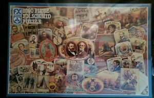 """NEW Memories of the Blue and Gray"""" 1000 Piece Schmid Puzzle #90155 - Civil War"""