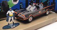 Jada 1/43 Scale Model Car 31703 - Classic TV Series Batmobile & Batman