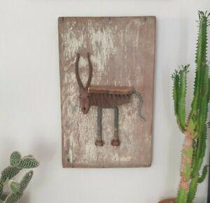 Original Art Sculpture - Rustic assemblage of found objects - Crooked Emu Studio