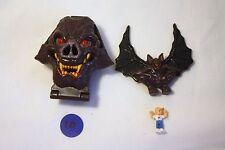 Mighty Max Horror Heads Vamp Biter 100% Complete Set Playset Bluebird Toys