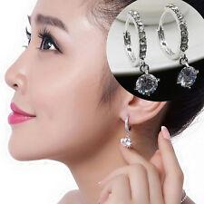 1 Paar  Ohrringe Edelstahlcreolen  Damen Unisex Hoop Ohrringe Ohrschmuck