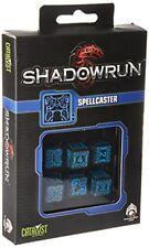 Dés de jeux Shadowrun Spellcaster par Q-workshop
