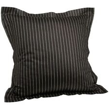 Tommy Hilfiger York Brown Stripe Decorative Throw Pillow