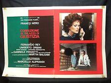 FOTOBUSTA CINEMA - CORRUZIONE AL PALAZZO DI GIUSTIZIA - FRANCO NERO - 1975 - 03