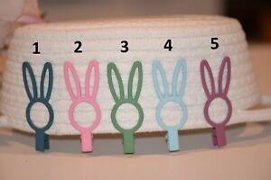 Bunny Ears / Rabbit Ears Alligator Hair Clips, Easter Hair Clips - Matt Finish
