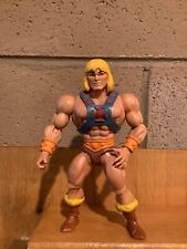 Masters Of The Universe Origins He-Man And Weapons Lot