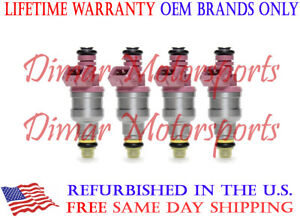 Bosch Fuel Injectors Set for 1984-1989 Volvo 760 2.3 I4 Turbo 84 85 86 87 88 89