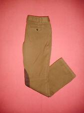 Ralph Lauren Zip-Fly - Ladies Brown Trousers Pants - W30 L32 - B292