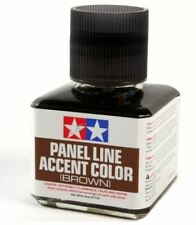 40ml TAMIYA PANEL LINE ACCENT COLOR BROWN for PlasticModel Kits #87132