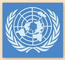 NEW UNITED NATIONS ARMY /CIVILIAN VEHICLE STICKER DECAL