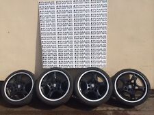 "Genuine Porsche 19"" C4/Turbo Black wheels & tyres"