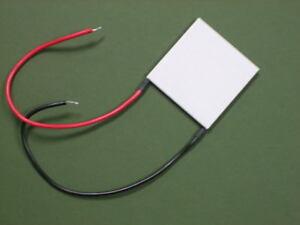 THERMOELECTRIC POWER GENERATION TEG MODULE - 40mm - HIGH TEMP Model PGEN-12710